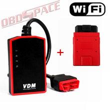 Original VDM UCANDAS V3.81 WIFI Full System Car Diagnostic Tool ucandas vdm DHL free(Hong Kong)
