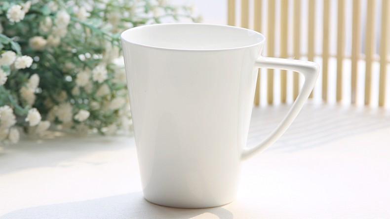 350ml, Ceramic bone china cup mixer, coffee mugs ceramic, cheap white mugs, cappuccino cups, wholesale sublimation mugs(China (Mainland))