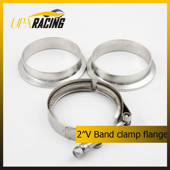 "2"" Universal V Band Clamp Flanges Stainless Steel turbo exhaust application stainless steel flange"