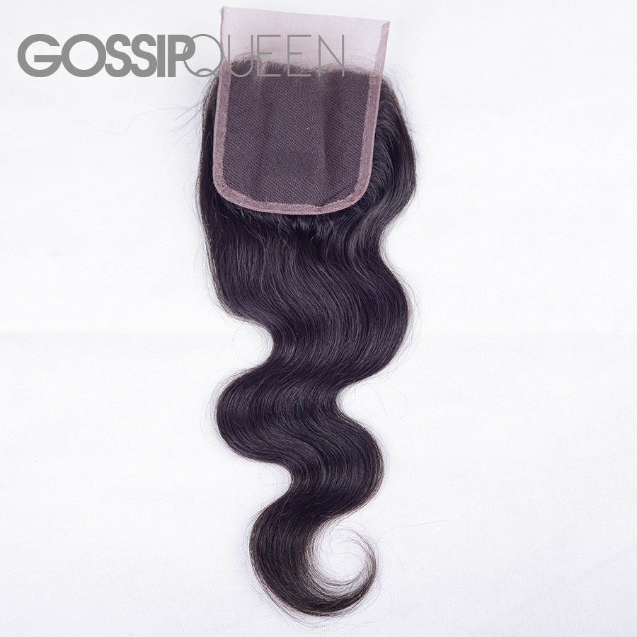 7A Indian Body Wave Closure 4x4 (H/L) Slightly Bleached Knots Hand Tied Middle Parted Lace Closure Indian Virgin Hair<br><br>Aliexpress