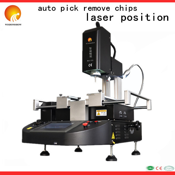 WDS-550 automatic motherboard repair tools 3 zone bga machine cost price better 2 - Shenzhen Wisdomshow Technology Co., Ltd. store