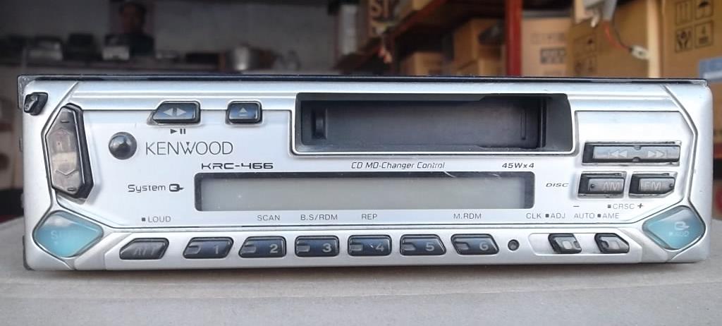 Used car cassette machine Radio CD disc box host KRC466(China (Mainland))