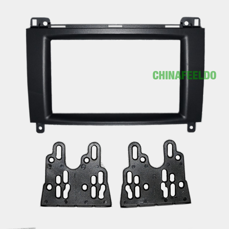 Car refitting DVD frame,DVD panel,Dash Kit,Fascia,Radio Frame,Audio frame BENZ B200,2 DIN