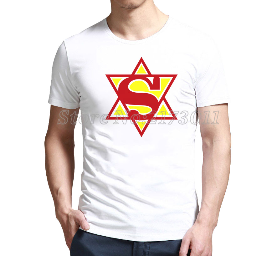 2016 New Rushed Fashion Short Polyester Spandex Print No Broadcloth Shop Super Hebrew - Jewish Man T-shirt With Up To % 80 Off(China (Mainland))