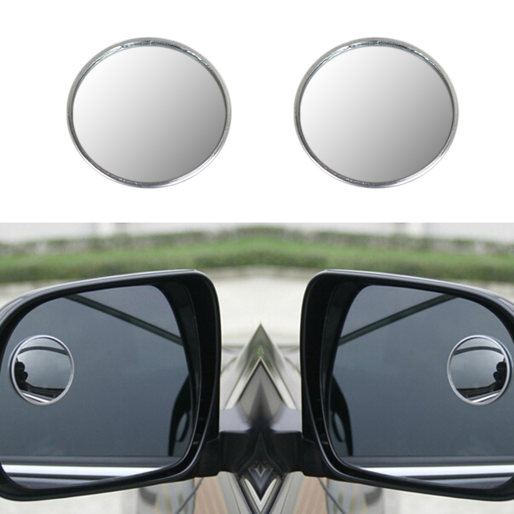 2 X 2inch Blind Spot Rear View Mirrors Rearview Wide Angle