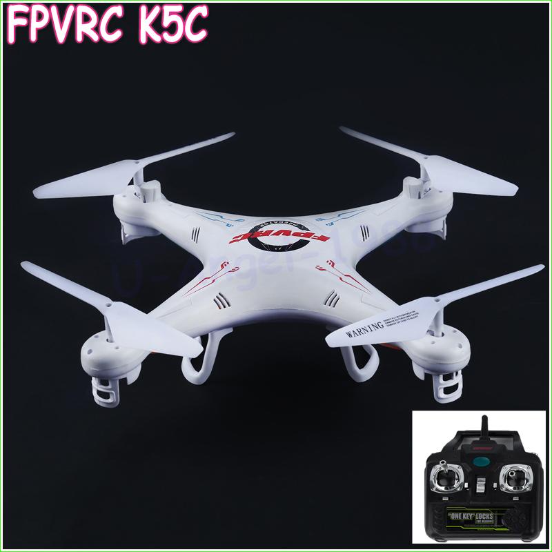 1pcs 100% Original 2.4G 4-Channel HD 4 Axles Quadcopter 360 degree For FPV RC K5C Wholesale<br><br>Aliexpress