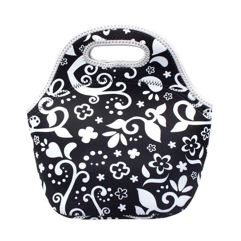 Гаджет  Hot Sale Warm Heat Insulation Neoprene Lunch Bag Outdoor Food Container Thicker Bag Bolsa Termica Lancheira Termica  None Камера и Сумки