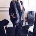 Print Luxury Brand Women Scarves Fashion Double sided Imitation Cashmere Large Cape Shawl British Wind Pashmina