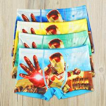 Boys Children Underwear 2016 High Quanlity New Kids Cartoon Briefs Boy Panties Boxer Children Clothing 4 Pcs/Lot Free Shipping(China (Mainland))