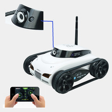 F04110 wifi 4ch Instant rc kesselwagen iphone handy w/Live-Video Kamera-Funktion +freeship(China (Mainland))
