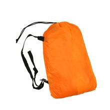 10 colors lazy bag lay bag sleeping bag fast inflatable camping air sofa sleeping beach bed banana lounge bag laybag