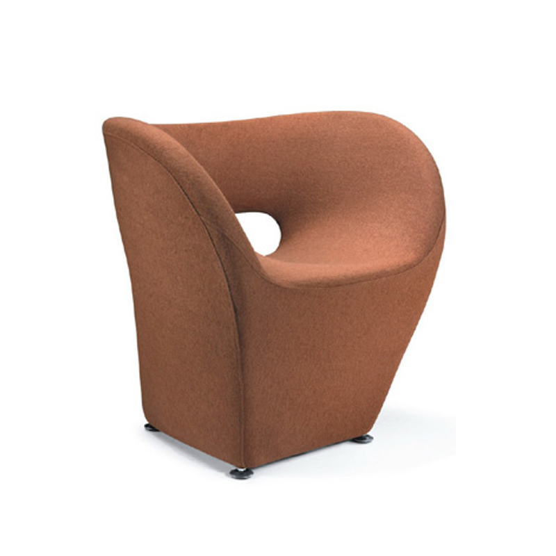 Cheap designer coffee croissants nordic small cloth chair for Small modern chair