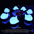 PLAYBULB Zoocoro Airwhale Smart Speaker Lamp Portable Night Light Birthday Gift wireless Music Player Touch Cute