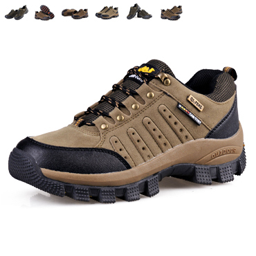Big size genuine leather winter men boots warm man work boot travel shoes hiking running shoe lace-up all season man's botas 302(China (Mainland))