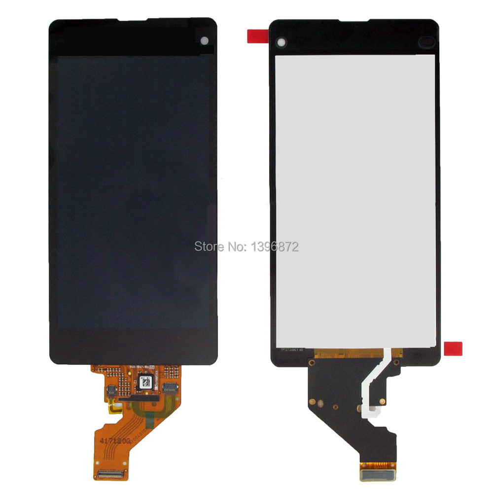 For SONY XPERIA Z1 MINI COMPACT New Full LCD Display Screen Panel + Touch Screen Digitizer Glass Assembly With Tracking Number