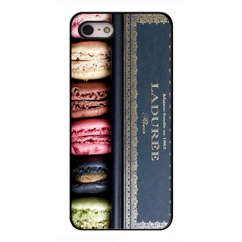 Macaron Laduree Phone Cases for iPhone 4s 5S SE 5C 6s 6Plus iPod Touch 4 5 6 Cover for Samsung Galaxy S3 S4 S5 S6 S7 Edge A5 J5