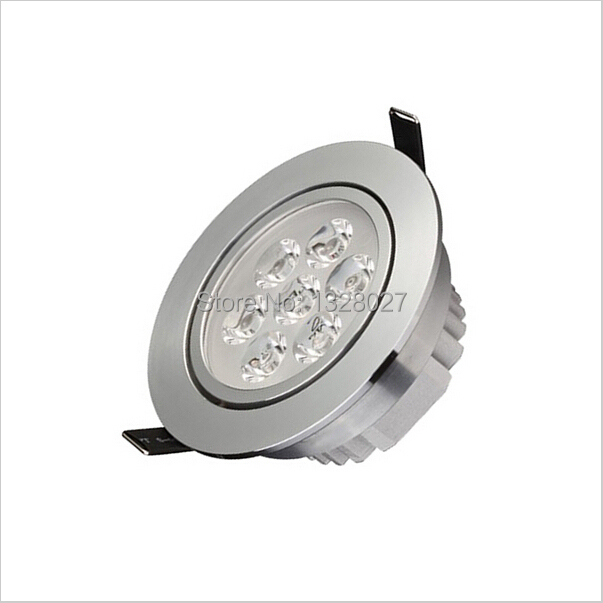 LED Ceiling Downlight 14W 7X2W LED Recessed Cabinet Wall Spot light Bulb Lamp Cold White Warm White(China (Mainland))