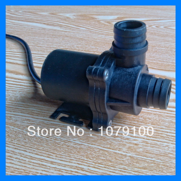 41.6L/Min. 45.6W DC brushless dc 12v fountain water pump(China (Mainland))