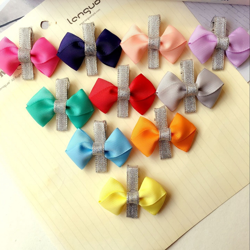 boutique bowknot baby girls kids hair clips pin bows headwear hairpin accessories for children hair ornaments hairclip headdress(China (Mainland))