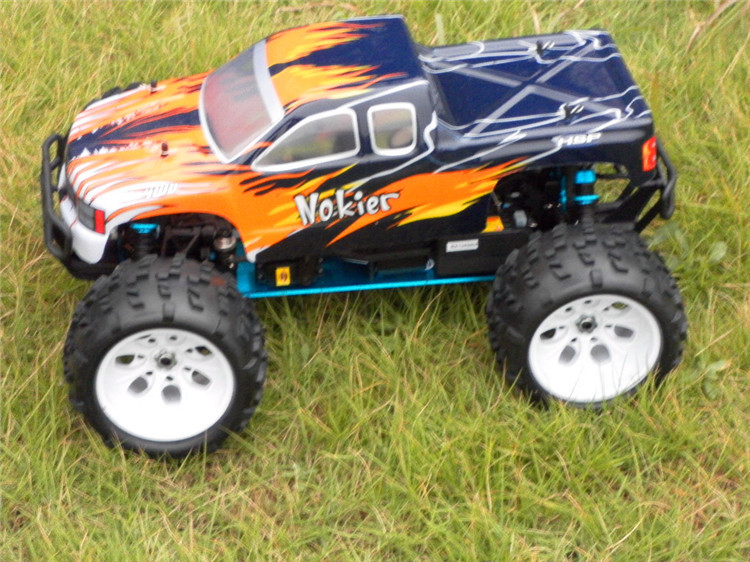 Free Shipping HSP Rc Car 1/8 Scale Models Nitro Gas Off Road Monster Truck 4wd Remote Control Car High Speed Rc Hobby Car(China (Mainland))