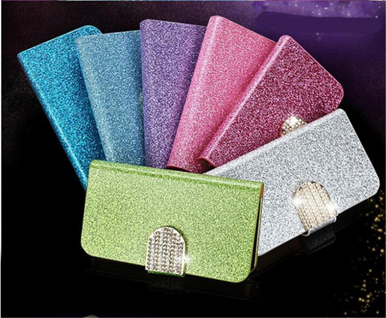 Free shipping Luxury Bling Leather Phone Case bling Button Magnetic Flip Wallet Phone Case For Motorola Droid Razr XT910 XT912(China (Mainland))