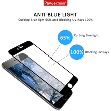 Pavoscreen For iphone 6s plus Tempered Glass 9H font b Screen b font font b Protector