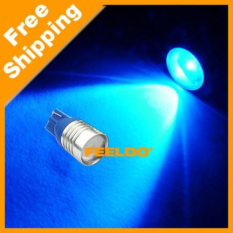SUPER Blue 5W High Power T10 168 194 SMD LED Wedge Car Led light Sku:#3176<br><br>Aliexpress