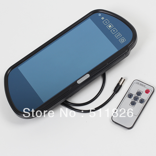 """Free shipping 7"""" TFT LCD Color Car Rearview Monitor  8158"""