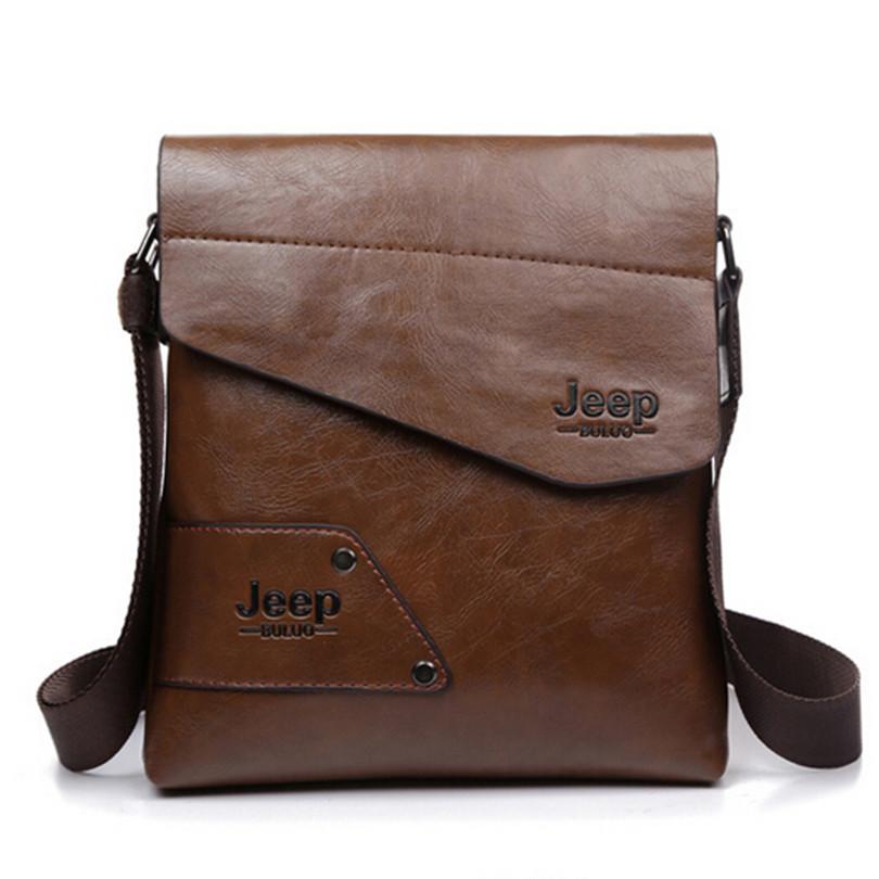 2015 New Men leather famous brand Messenger Bags Fashion Casual Business Shoulder Handbags for man,Men's Travel Bags Bolsas(China (Mainland))