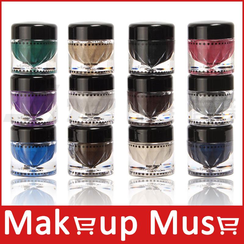 1set eye shdaow 12 color high- chroma pearl eyeshadow(China (Mainland))
