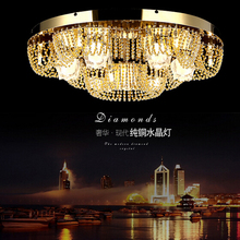 new design modern chandeliers crystal lighting for living room lights ceiling fixtures LED lamps (China (Mainland))
