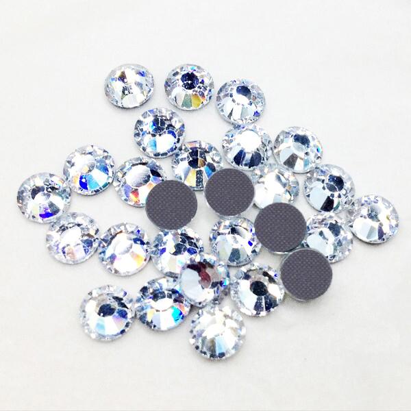 High Quality Loose Stones Flat Back 3 5mm SS12 Crystal Hotfix Rhinestones 1440pcs For Wedding Dress