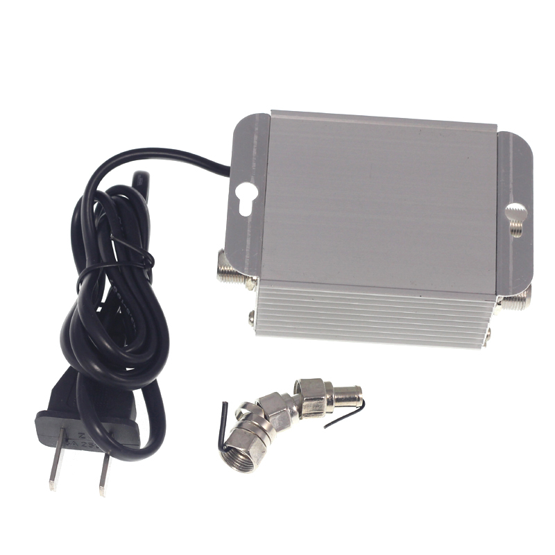TV CATV Antenna Broadband Signal Amplifier AMP Booster sdr radio rf modulator broadcast e4000 tv transmitter