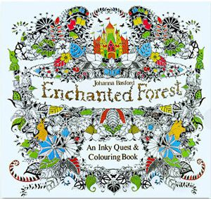24 Pages Drawing Book Enchanted Forest English Edition