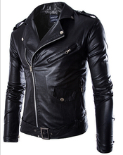 2015 Winer Jacket men Chaqueta hombre Motorcycle PU Outerdoor Coat men