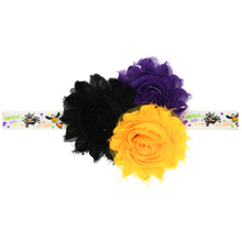 Buy Halloween baby flower headband children hair accessories girls hair accessories rhinestone elastic hair band lovell-4 for $1.11 in AliExpress store