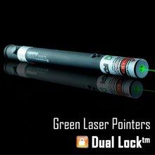 Skylasers sky 532nm 15 mw alta calidad puntero láser verde con doble Lock ( 2010 modelo )(China (Mainland))