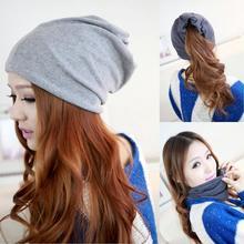 2017 New Arrival Autumn&Winter Women Beanie Skullies Warm Hip Hop Style Cap Hat Touca Gorro 3 Way To Wear Bonnet Women Beanies(China (Mainland))