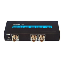 HD SD 3G SDI Switcher 2×1 Seamless 3G 1080P Two input SDI scaling into One Ouput seamless switch  HD Display Extender Repeater