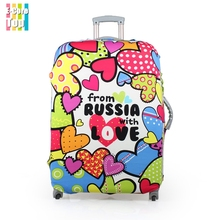Size L or XL Apply to 26''~30'' Cases Travel Luggage Cover Protector Trunk Excellent Elastic Beautiful Pattern FreeShipping(China (Mainland))