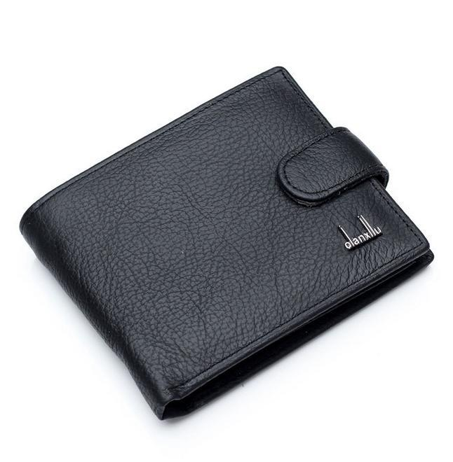 Гаджет  Fashion Hot Sale brand quality men wallet genuine leather coin change pocket hasp zipper purse wallets for men free shipping None Камера и Сумки