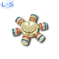 Upgrade edition Luminous Metal Fidget Spinner Toy Integral disassembly High freedom Hand Spinner Spinner Long Anti
