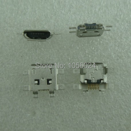 200pcs/lot 5-pin V8 V9 A1600 XT702 USB ZN5 E8 Q9 U9 end plug to charge for mobile phones(China (Mainland))