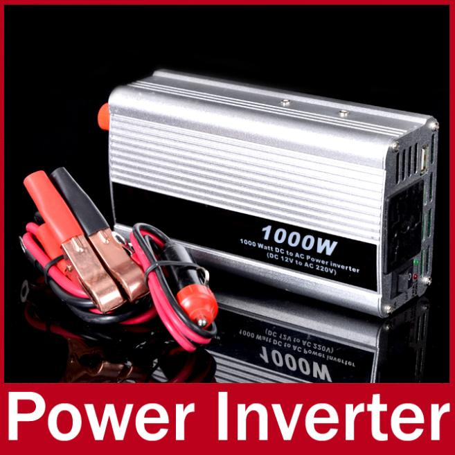 12V to 220V Auto Car Modified Sine Wave Power Inverter Converter USB Charger Cigarette Lighter for Laptop (Rated Power 600W)(China (Mainland))