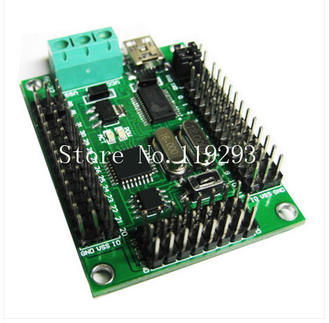 [[SA]32 Servo Controller Servo controller with basic instruction in offline mode USB compatible SSC32--2PCS/LOT(China (Mainland))