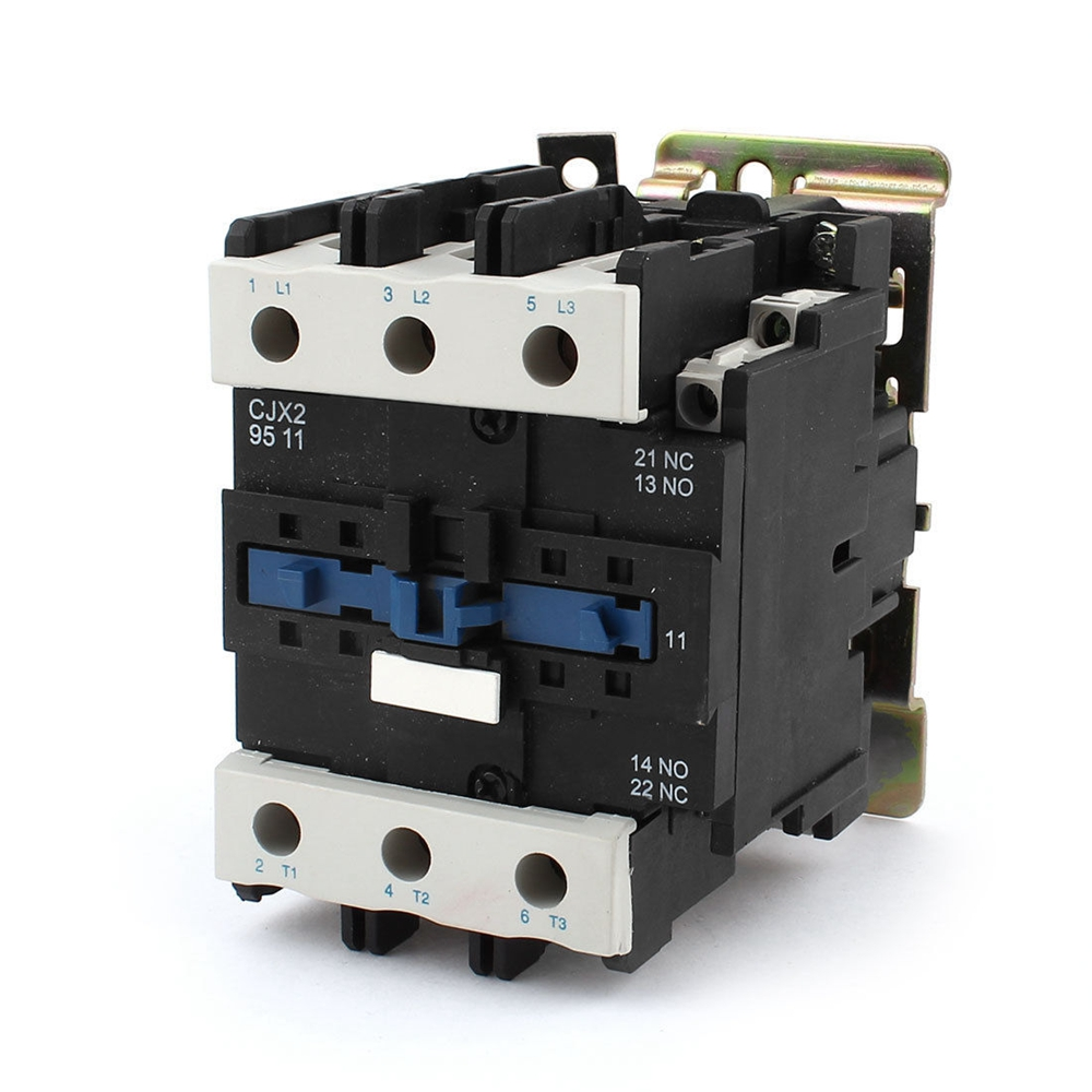 AC3 Rated Current 95A 3Poles+1NC+1NO 380V Coil Ith 125A 3 Phase AC Contactor Motor Starter Relay DIN Rail Mount<br><br>Aliexpress