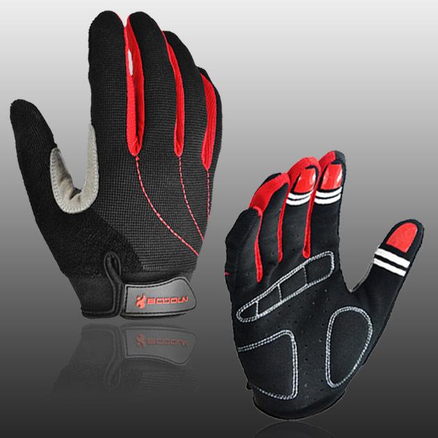 Mountain Road Motorbike Cycling Gloves Winter Heated MTB Full Finger Racing Bicycle Bike Sports - boodun Riding supplies store