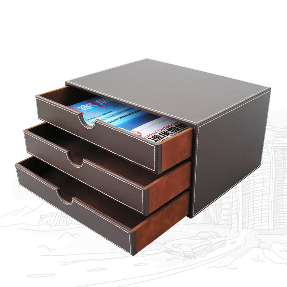 Aliexpress.com : Buy Ever Perfect 3 Layer 3 Drawer File ...