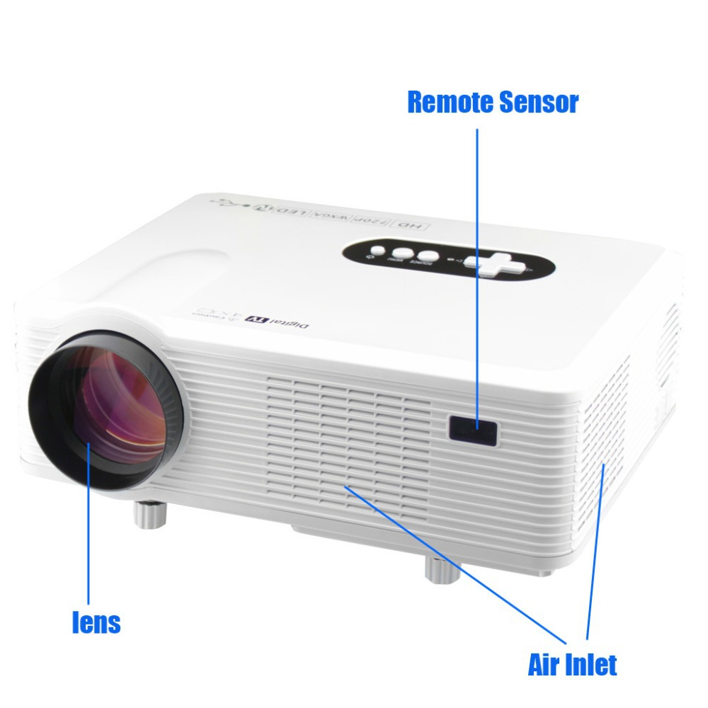Small lcd tv chinese goods catalog for Smallest full hd projector