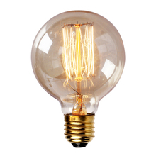 Vintage Retro Edison Lamp G80 G95 G125 40W Incandescent Light Bulb E27/110V 220V lampada edison lamps lamp Glass Housing Blub(China (Mainland))